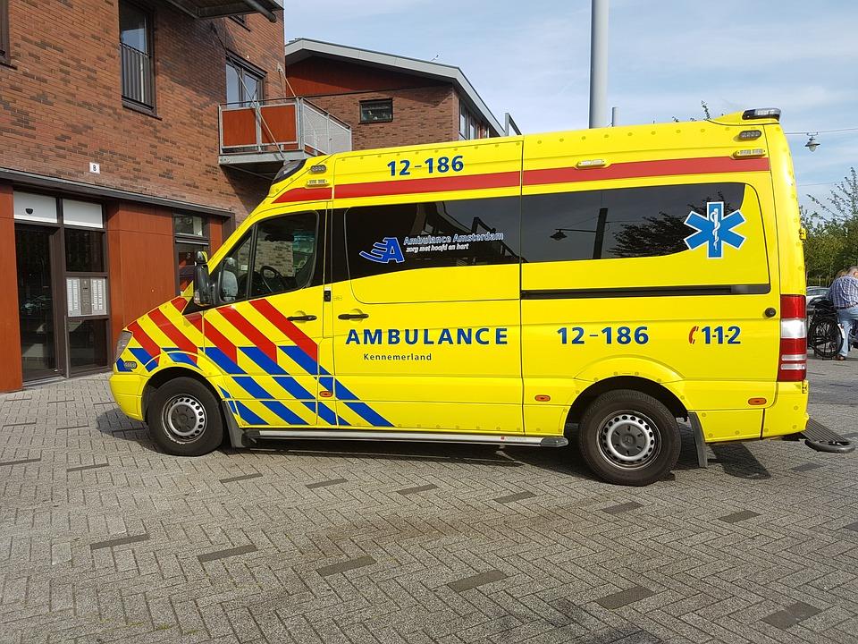 Ambulance gehinderd